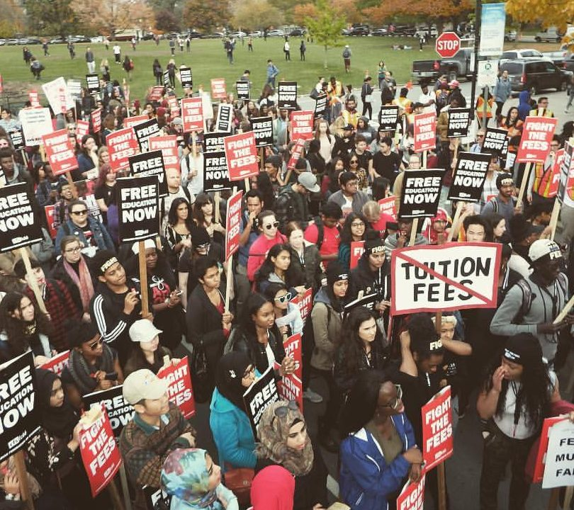 Tuition Fee Rally